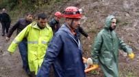 KURTARMA OPERASYONU - Kestane Toplarken Kolunu Kıran Genci AFAD Ekipleri Kurtardı