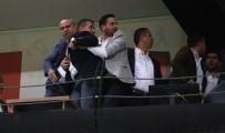 DENIZLISPOR - Manisaspor-Denizlispor Maçında Protokolde Gerginlik
