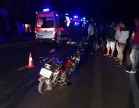 Mersin'de Motosiklet Kazası Açıklaması 2 Yaralı
