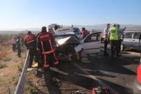 Mersin'de Trafik Kazası Açıklaması 1'İ Çocuk, 10 Yaralı