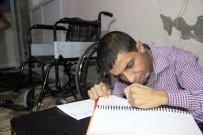 TEKERLEKLİ SANDALYE - Engelleri Aşan Lise Öğrencisi Servisleri Aşamadı