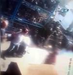 İKITELLI - Patlamada Yanmaya Başlayan Şahsı Vatandaşlar Söndürmeye Çalıştı