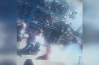 İKITELLI - Patlama Sonrası Bir Kişi Alev Aldı