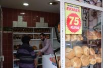FIRINCILAR - Rakiplerine Kızan Fırıncı Ekmeğin Fiyatını Yarıya İndirdi