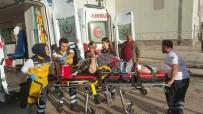Samsun'da Kamyonetin Çarptığı 3 Kişi Ölümden Döndü