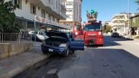 İLK MÜDAHALE - Seyir Halindeki Araçta Yangın Çıktı