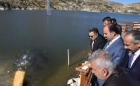 DEVLET SU İŞLERİ GENEL MÜDÜRLÜĞÜ - Sille Barajı'na 35 Bin Yavru Balık Bırakıldı