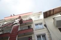 Sinop'ta Korkutan Yangın