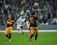HAKAN ARıKAN - Bursaspor 10 kişiyle Osmanlıspor'u devirdi