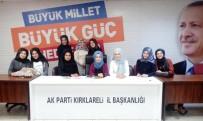 ÜNİAK Kırklareli Hanım Komisyonu Aliya İzzet Begoviç'i Anlattı