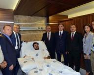 AKDENIZ ÜNIVERSITESI - Vali Karaloğlu, Silahlı Saldırıda Yaralanan Savcıyı Ziyaret Etti