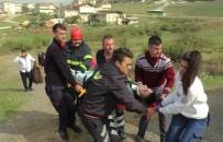 GAFFAR OKKAN - Virajı Alamayan Araç Tarlaya Uçtu Açıklaması 1 Yaralı