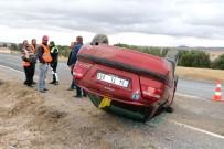Yozgat'ta Otomobil Takla Attı Açıklaması 1 Yaralı