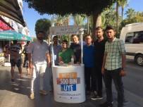 AK Parti Gençlik Kolları Manavgat'ta Üye Standı Açtı