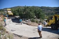 Alanya'da Asfaltlama Çalışmaları