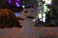 KARDAN ADAM - Kar esareti! 17 köy yolu kapalı