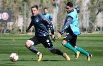 Atiker Konyaspor, Salzburg Maçı Hazırlıklarını Sürdürüyor