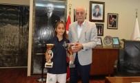 ŞAHIT - Balkan Şampiyonundan Başkan Seyfi Dingil'e Ziyaret