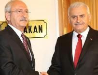 GRUP BAŞKANVEKİLİ - Başbakan Yıldırım ile CHP Genel Başkanı Kılıçdaroğlu görüştü