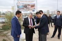 FUZULİ - Başkan Çelik Şantiyelerde İncelemelerde Bulundu