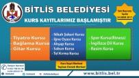 BAĞLAMA - Bitlis Belediyesinin Kurs Kayıtları Başladı