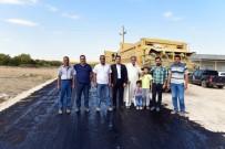 BAYRAM HAVASI - Ceylanpınar Kırsalındaki Yollar 19 Yıl Sonra Asfaltlandı