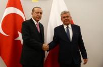 ENERJİ VE TABİİ KAYNAKLAR BAKANI - Cumhurbaşkanı Erdoğan, Karczewski İle Görüştü