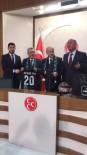 EMİN HALUK AYHAN - Denizlispor'dan MHP Genel Başkanı Bahçeli'ye Ziyaret