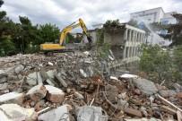 AKILLI BİNA - DSİ 92. Şube Müdürlüğü  Eski Hizmet Binası Yıkıldı