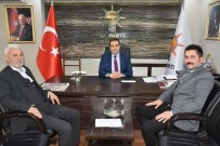 İBRAHIM YıLMAZ - Eskişehir Anadolu Kültür Ve Dayanışma Derneği'nden AK Parti Tepebaşı İlçe Teşkilatına Hayırlı Olsun Ziyareti