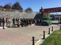 TRAFIK KAZASı - Ezgi Hocanın Cenazesi Adli Tıp Kurumu'na Getirildi