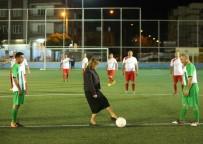 SİVİL TOPLUM - Final Maçının Santrasını Başkan Şahin Yaptı