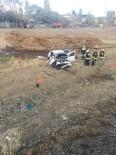 UZMAN ÇAVUŞ - Görev Yerine Dönen Uzman Çavuş Kaza Yaptı Açıklaması 1 Ölü 2 Yaralı