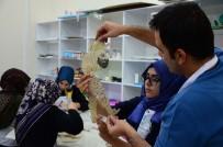 TÜRK TİYATROSU - Hacivat-Karagöz Tasvirleri Öğrencilerin Ellerinde Şekilleniyor