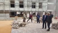 KANALİZASYON - İş Ticaret Ve Kültür Merkezi'nin Üst Yapı Çalışmalarına Başlandı