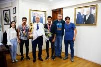 OLİMPİYAT ŞAMPİYONU - İşitme Engelliler Olimpiyat Oyunları Şampiyonları Torbalı'da