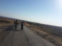 Karacadağ'a Pedal Çevirerek Çıktılar
