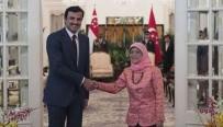 KATAR - Katar Emiri Şeym Tamim, Singapur'a Gitti