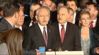 ANTALYA - Kemal Kılıçdaroğlu, Deniz Baykal'ı Ziyaret Etti