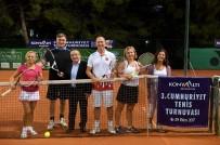 29 EKİM CUMHURİYET BAYRAMI - Konyaaltı Belediyesi Tenis Turnuvası Başladı