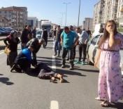 YAŞLI KADIN - Mahallelinin Eylem Yaptığı Yolda Yine Kaza Açıklaması 1 Yaralı