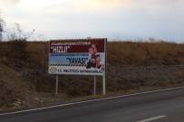ÖLÜMLÜ - Mecitözü Kaymakamlığından Sürücülere Trafik Kazalarına Karşı Levhalı Uyarı