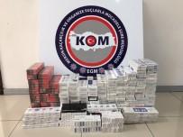 Mersin'de 14 Bin Paket Kaçak Sigara Ele Geçirildi