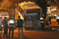 Mersin'de Bombalı Saldırının Düzenlendiği Polis Servis Aracı Olay Yerinden Kaldırıldı