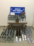 Mersin'de Kaçak İçki Ve Sigara Operasyonu