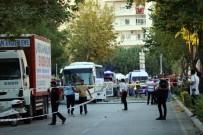 Mersin'de Polis Servis Aracına Bombalı Saldırı Açıklaması 12 Yaralı