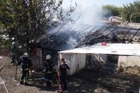 YEŞILDERE - Metruk Binada Yangın
