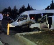 Öğrenci Servisi Kaza Yaptı Açıklaması 1 Ölü, 7 Yaralı