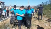 MURAT ÖZTÜRK - Öğrenciler Çevre Temizliği Yaptı