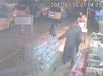 BUZDOLABı - (ÖZEL) Acemi Hırsızlar Güvenlik Kamerasında